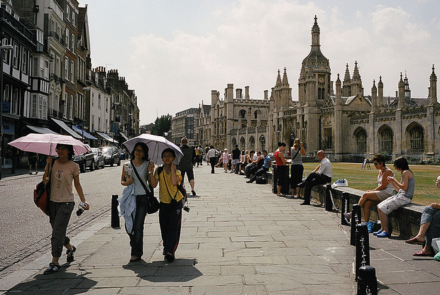 Cambridge UK - city centre