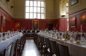 Dining Room at Sydney Sussex College, Cambridge