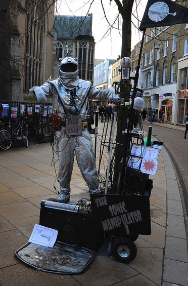 Cambridge Busker - The Sonic Manipulator